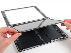 замена дисплея на iPad